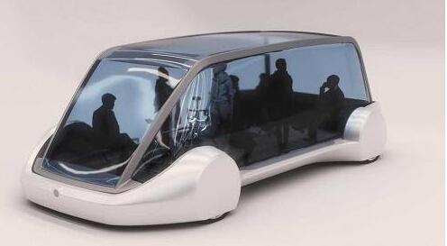 """马斯克旗下""""无聊公司""""放出新款电动车观点图"""