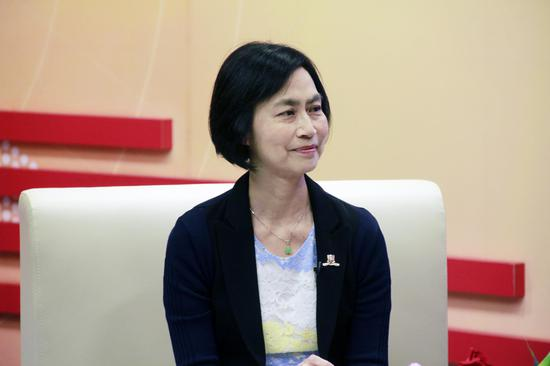 香港中文大学入学及学生资助处处长王淑英女士