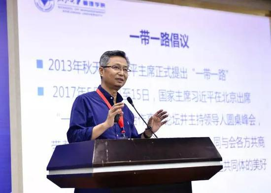 教指委委员、浙江大学管理学院院长吴晓波发表主旨讲话