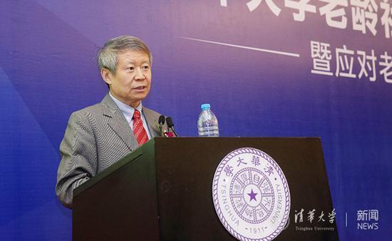 清华大学李强教授发表演讲。