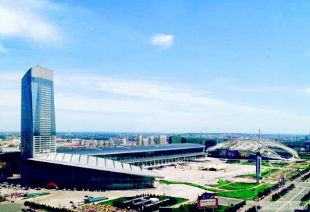 哈尔滨国际会展体育中心(哈工大建筑学院院长梅洪元主持设计)