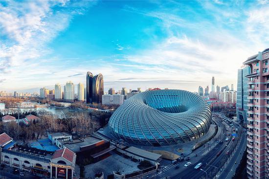 北京凤凰国际媒体中心(同济大学建筑学邵伟平建筑师主持设计)