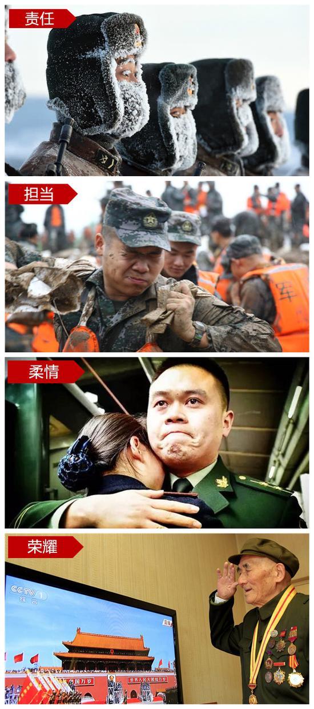 军人是国家的守护者