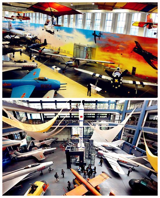 北京航空航天博物馆与南京航空航天博物馆