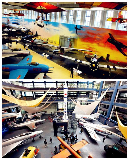 <a href=http://www.555edu.com/beijing/ target=_blank class=infotextkey>北京</a>航空航天博物馆与南京航空航天博物馆