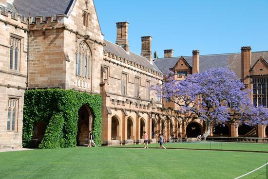 澳大利亚大学悉尼大学(图片来源于网络)