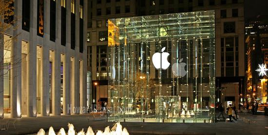 苹果公司 图片来源于网络