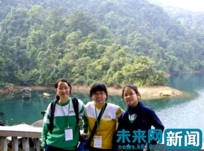 香港中学生参加游学团活动。(受访者供图)
