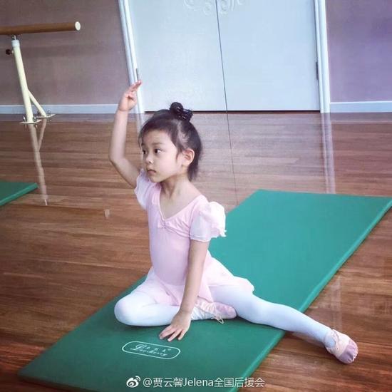甜馨练芭蕾舞