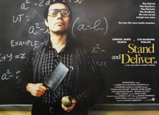 他拿着菜刀走进教室,把400个混混送进了耶鲁哈佛