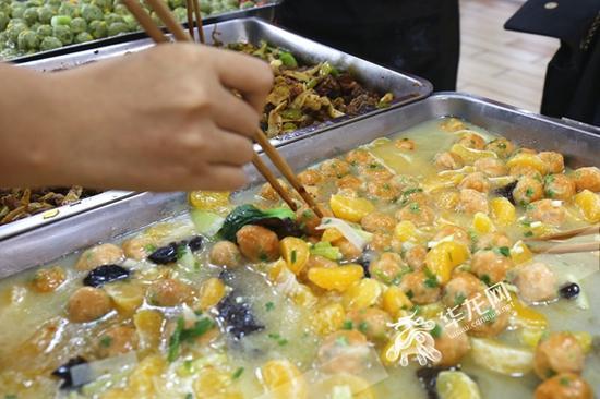 鲜橘肉丸 重庆大学城市科技学院供图 华龙网发