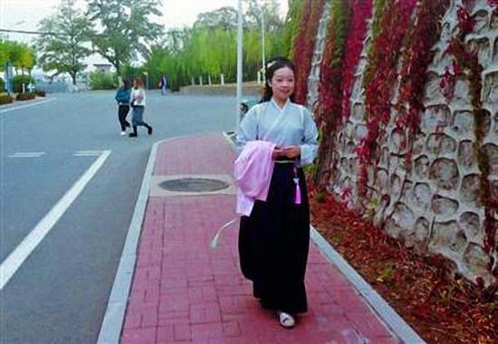 辽宁女大学生爱穿汉服:盼更多人了解传统文化