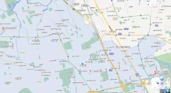 地图上部分