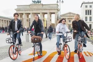 摩拜单车进入德国柏林 提前完成全球200城目标