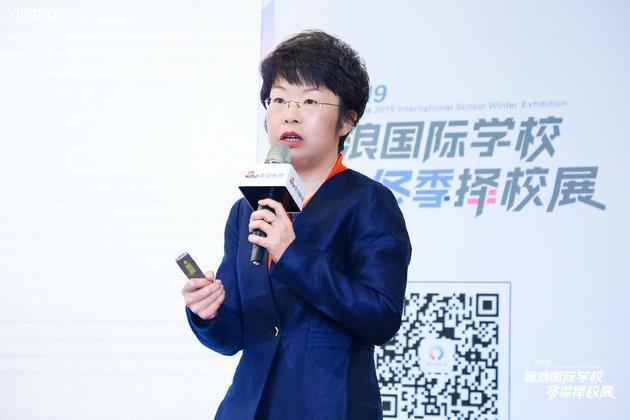 北京外国语大学国际课程中心主任 曹文
