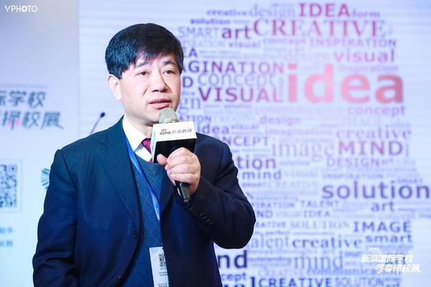 康福国际教育董事长、凯博外国语学校总校长刘煜炎