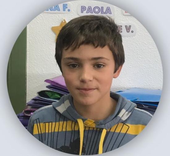 11岁的西班牙男孩塞尔希奥·桑切斯(资料图片)