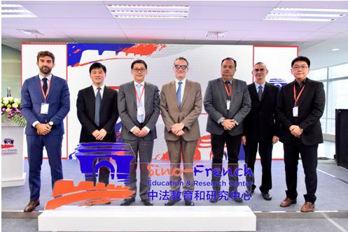 中國高科集團與法國駐華使館簽署合作協議