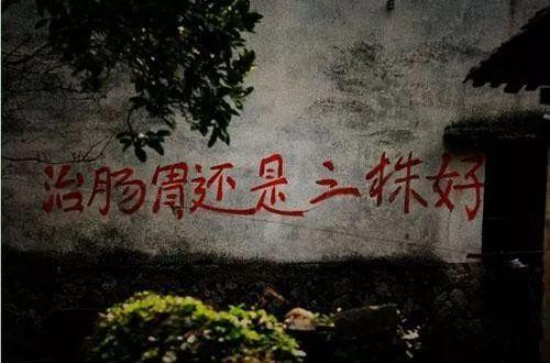 三株的墙体广告影响力惊人