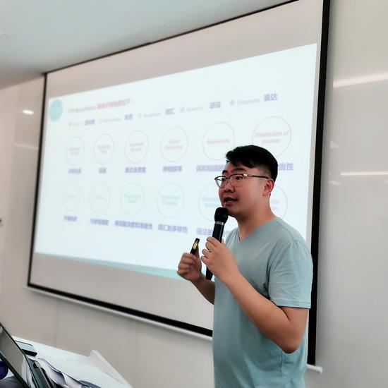 托福名师吴奇在发布会现场分享考试经验