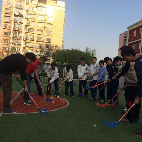 国际学校旱地冰球课