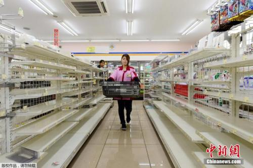 资料图片:日本熊本县超市。