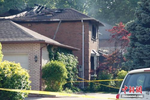 加拿大多伦多发生火灾致使中国留学生1死3伤