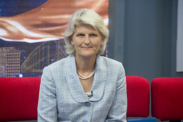瓦萨学院现任校长Elizabeth H. Bradley