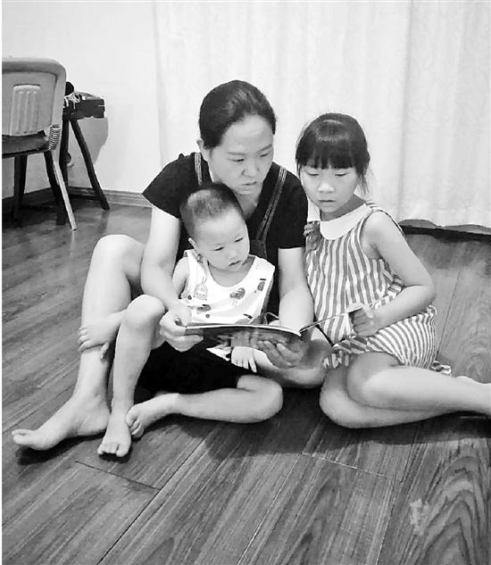 对于孩子上幼儿园这件事,二孩妈妈乐乐妈显得淡定多了。