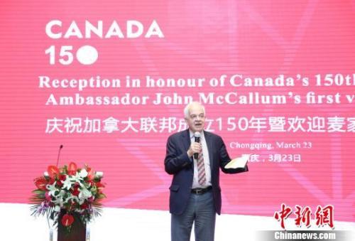 bob娱乐:加拿大驻华大使麦家廉在加总理要求下辞职