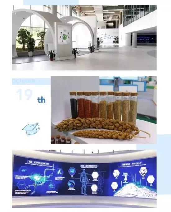 国家基因库展厅