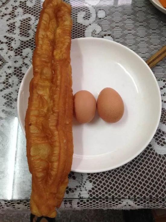 一根油条两个鸡蛋,必须考试当天吃才有效!