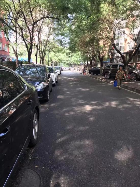 北京海淀区交大东路静园小区(受访者供图)