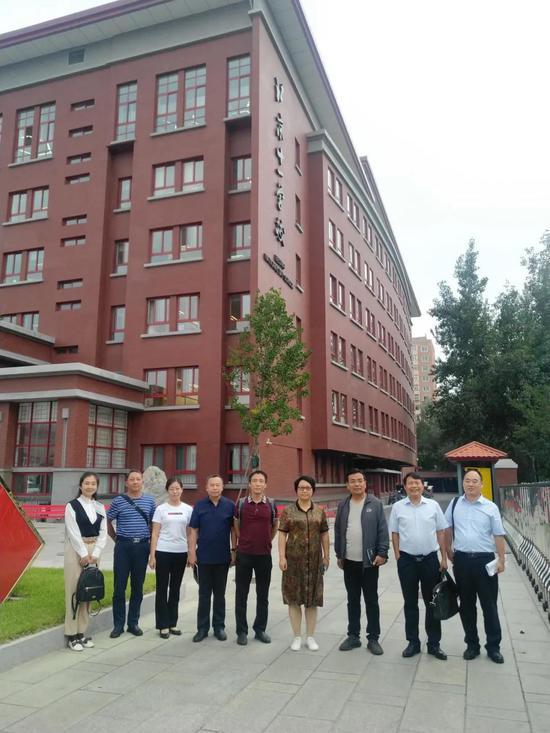 河北省涉县及育灵童教育集团一行赴北京十一学校学习考察