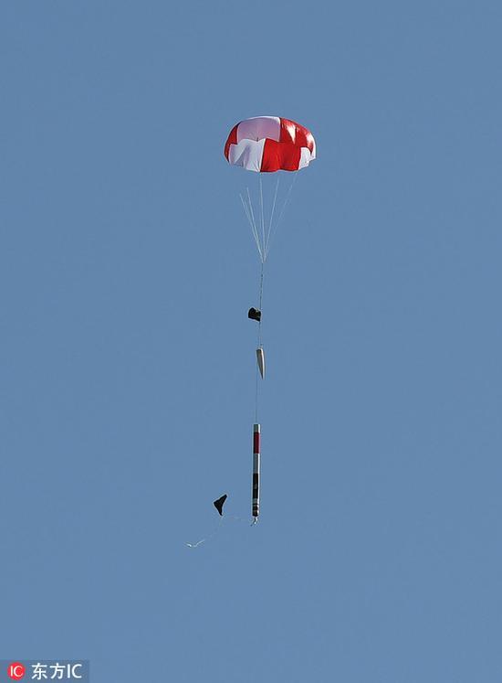 德国学生自制迷你卫星发射升空