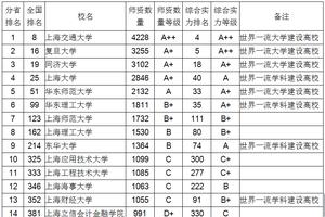 2018上海市大学教师数量伟德1946
