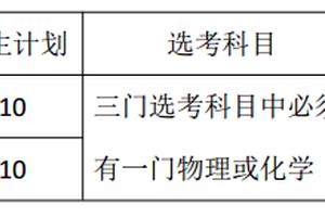 上海大学2018年自主招生简章