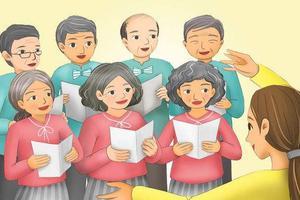 美洛杉矶华人合唱团:平凡的生活 不平凡的追求
