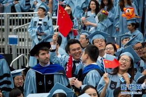别人家的毕业典礼:哥伦比亚大学举行毕业典礼