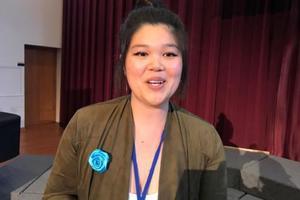 美国一华裔女生因家人攻击身材胖欲轻生