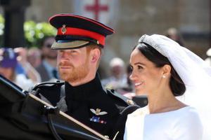 """""""接地气""""的皇室文化秀:华人姐妹看哈里王子婚礼"""