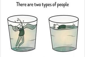戏剧与喜剧同在 英文小漫画告诉你这就是人生