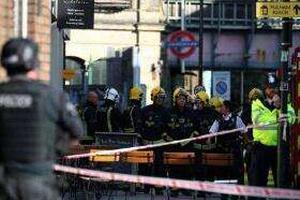 英国伦敦一地铁站突发爆炸事件 至少5人受伤