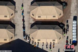"""资料图:特朗普政府对移民实施""""零容忍""""政策,数千名儿童在美国南部边境与父母或监护人被拆散。"""