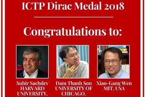 中国科学家摘得狄拉克奖 系理论物理界最高殊荣