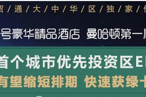 世贸通美国曼哈顿投资移民说明会即将在京开幕