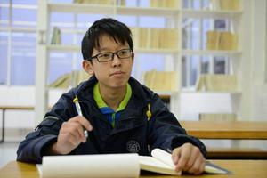 5大奥赛世界金牌得主李一笑:天分高 很努力