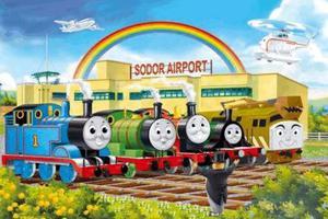 """英国开学季 上演小火车托马斯的""""朋友圈"""""""