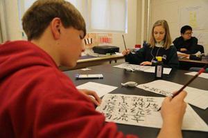 汉语在俄罗斯热度不减 中小学生学汉语人数大增