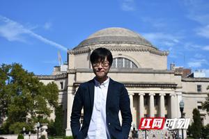 """长沙留学生:在哥伦比亚大学需要""""分段睡眠法"""""""